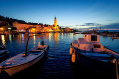 Sutivan Town in dusk Royalty Free Stock Photography
