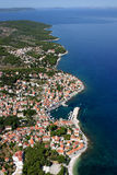 Sutivan, village on the north-west of Brac Island Stock Image