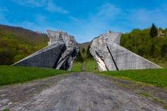 Sutjeska WW2 monument Stock Photography