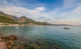 Sutomore Evening Landscape Stock Photography