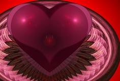 Sutra del corazón stock de ilustración
