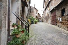 Sutri Italien Arkivfoton