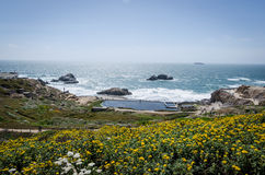 Sutro Baths from above Stock Photos