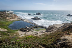 Sutro Baths from above Royalty Free Stock Photos