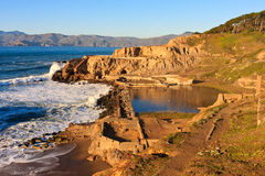 Sutro Baths in San Francisco Stock Photography