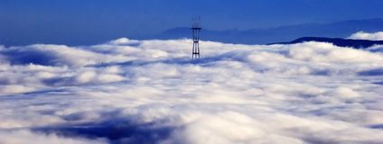 Sutro Tower, San Francisco Royalty Free Stock Photo