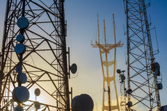 Free Sutro Tower Telecommunication Tower Stock Image - 40534031