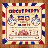 Sutten cirkus Royaltyfria Bilder