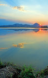 Sutter Buttes sunset Royalty Free Stock Image