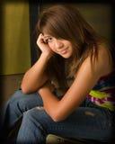 suttle усмешки девушки предназначенное для подростков Стоковое фото RF