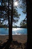 湖suttle 库存图片