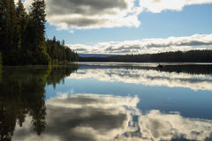 Suttle Lake, Oregon Royalty Free Stock Photo