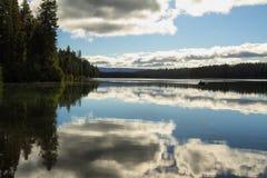 Suttle sjö, Oregon Royaltyfri Foto