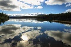 Suttle sjö, Oregon Royaltyfri Bild