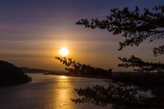 Suttle Sunset Stock Photo