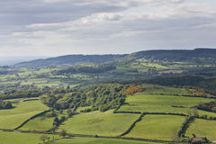 Sutton Bank Landscape Royalty-vrije Stock Afbeelding