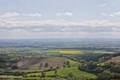Sutton Bank Landscape Fotografie Stock Libere da Diritti