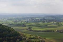 Sutton Bank Landscape Royalty-vrije Stock Foto