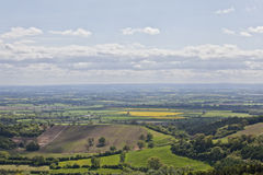 Sutton Bank Landscape Royalty Free Stock Photos