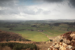 Sutton Bank view Royalty Free Stock Photography