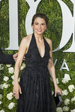 Sutton Foster. Former winner of multiple Tony awards, Sutton Foster, arrives for the 71st Annual Tony Awards at Radio City Music Hall in New York on June 11 Royalty Free Stock Photos