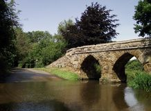 Sutton: Medieval Bridge and Ford Stock Photos