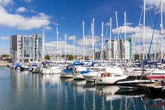Sutton schronienia Marina Plymouth obraz royalty free
