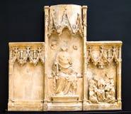 Sutton Valence Altarpiece Fotografie Stock Libere da Diritti