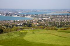 Sutton village and golf club in Howth