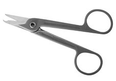 Suture scissors Royalty Free Stock Photo