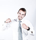 Suuccess And Enthusiasm In Business Royalty Free Stock Photos
