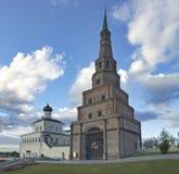 Suumbike, torre Simbolo del Tatarstan, Federazione Russa Immagine Stock