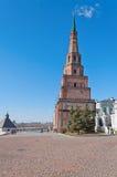 Suumbike Tower in Kazan Kremlin. Russia Royalty Free Stock Images