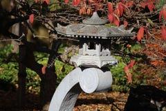Suuny dzień W Zen ogródzie Zdjęcie Stock