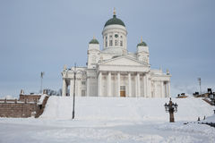 Suurkirkko Church in Helsinki Royalty Free Stock Photography