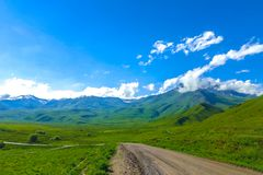 Suusamyr Too Mountain Range 11 royalty free stock photo