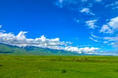 Suusamyr Too Mountain Range 08 royalty free stock photo