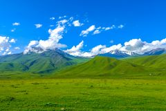 Suusamyr Too Mountain Range 13 stock image