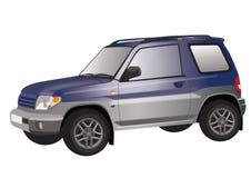 SUV例证 免版税库存照片