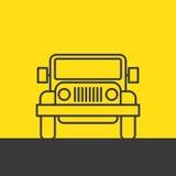 SUV汽车 免版税图库摄影
