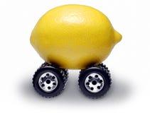 suv лимона автомобиля стоковая фотография rf