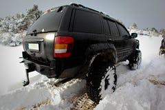 Suv на снеге Стоковое Изображение RF