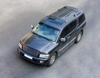 suv размера большого автомобиля польностью гигантское Стоковое Изображение