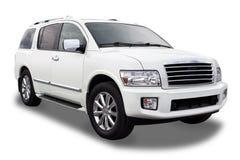 SUV. Sports Utility Vehicle Isolated on White Royalty Free Stock Images