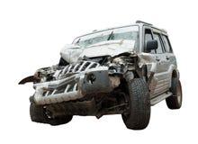 Συντριμμένος - ένα συμπληρωμένο συνολικά SUV Στοκ εικόνες με δικαίωμα ελεύθερης χρήσης