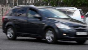 SUV-Abbruch stock footage