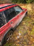 SUV attaccato Immagine Stock