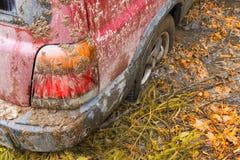 SUV attaccato Immagine Stock Libera da Diritti
