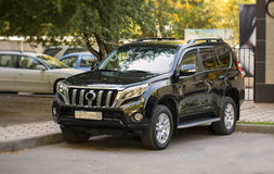 SUV-Auto Lizenzfreies Stockbild