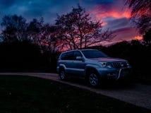 Suv4x4 auto Royalty-vrije Stock Foto's